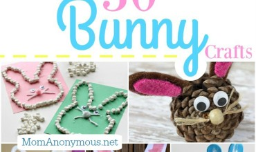 30 Cute as can be Bunny Crafts