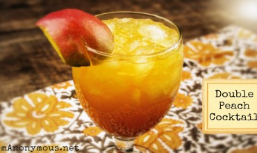 Double Peach Cocktail – #Peach #Cocktail