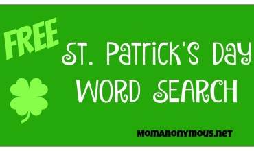 FREE St. Patrick's Day Word Search #StPatricksDay #Fun #WordSearch