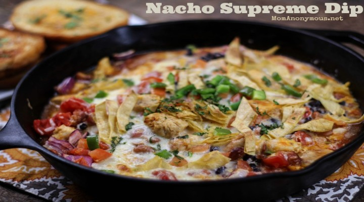 Nacho Supreme Dip and Cheese Toast with Cilantro Recipes – You will say OH MY!