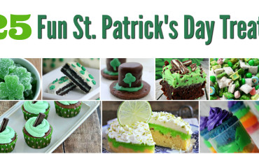 25 FUN St. Patrick's Day Treats