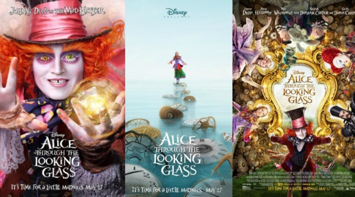 Did you LOSE an hour to Daylight Savings or was it STOLEN??  Alice Through The Looking Glass TRAILER