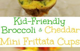 Kid-Friendly Broccoli and Cheddar Mini Frittata Cups