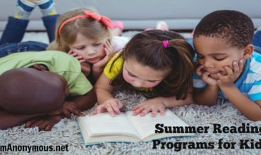 Get Ready to Read!  Kids Summer Reading Programs are HERE