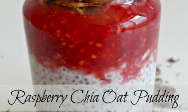 Fresh Raspberry Chia Oat Pudding Recipe