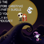 EXCLUSIVE and COMPLIMENTARY The Nightmare Before Christmas Printable Halloween Party Pack!