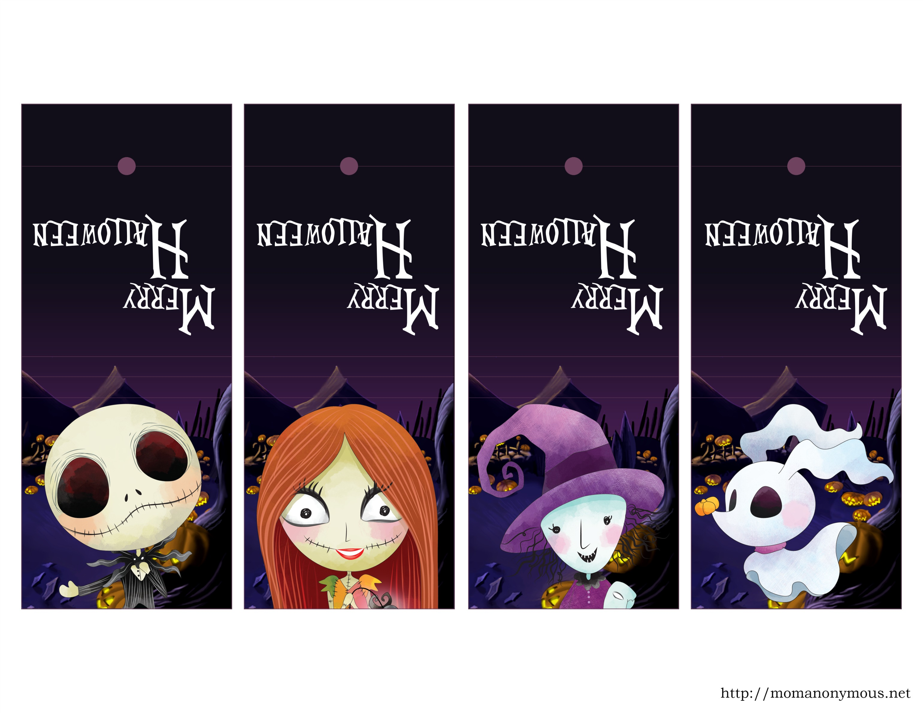 EXCLUSIVE and COMPLIMENTARY The Nightmare Before Christmas Printable ...