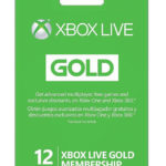 Microsoft Xbox LIVE 12 Month Gold Membership for Xbox 360 / XBOX ONE $44 Shipped!