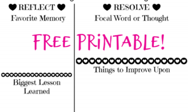 New Year!  New Goals!  New Year's Resolution Worksheet FREE PRINTABLE