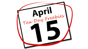 Tax Day 2019 Freebies And Deals